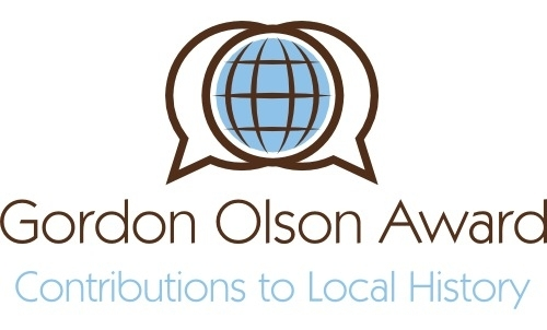 Gordon Olson Award Contribution to Local History